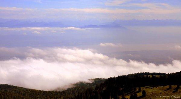 Du haut de La Dôle (Haut Jura) 1 677m