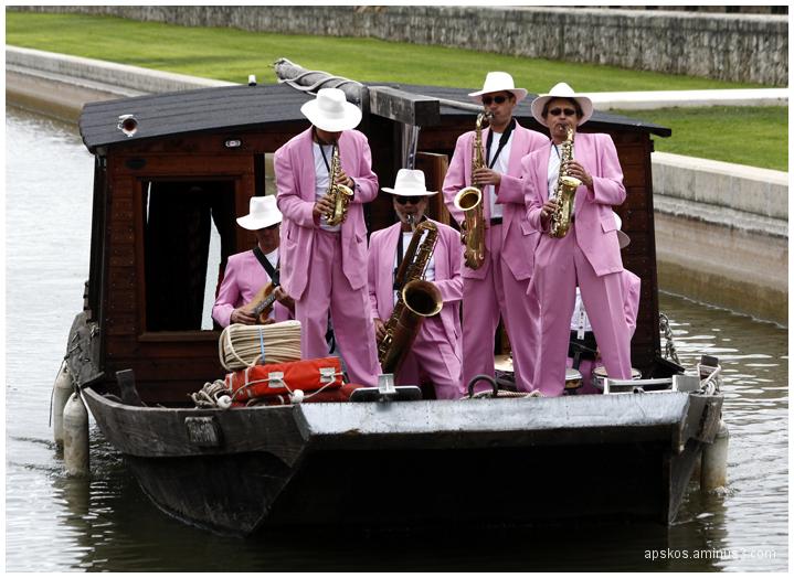 Jazz sur le canal...