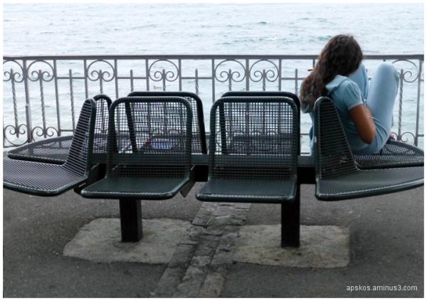 Montreux, bord du lac, 17h.