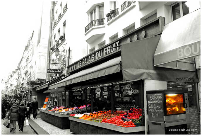 Paris, rue Montorgueil.
