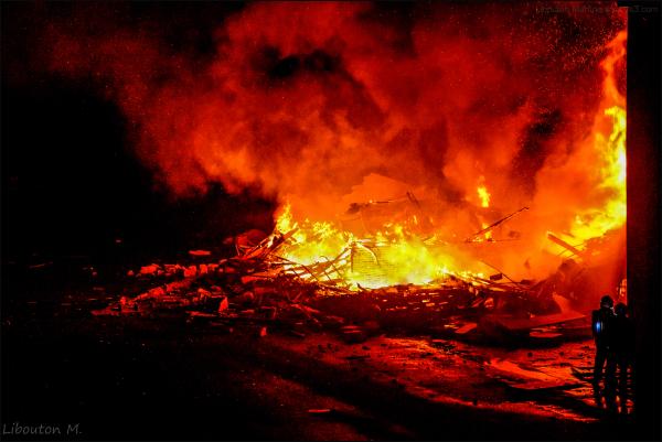 Les hommes du feu!