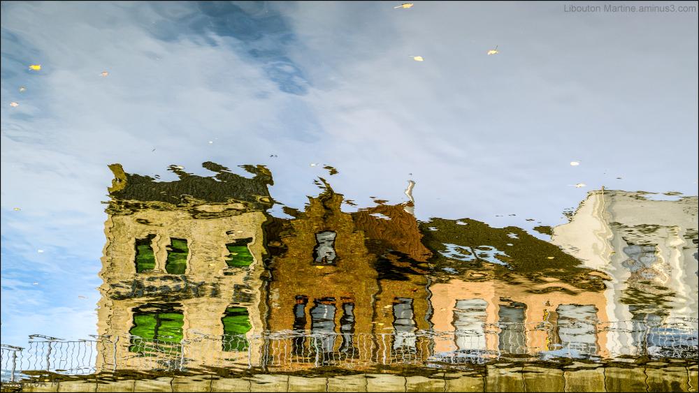 La maison aux volets verts