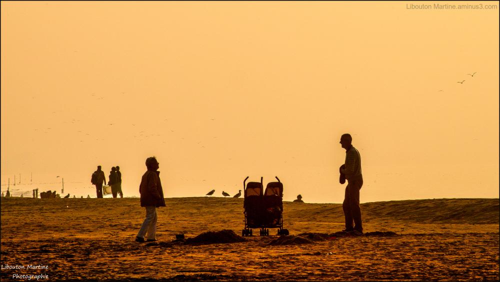 La vie à la plage