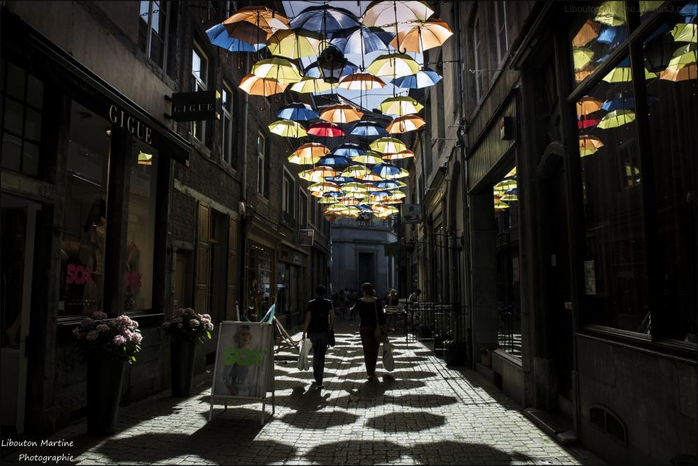 Les parapluies de Namur
