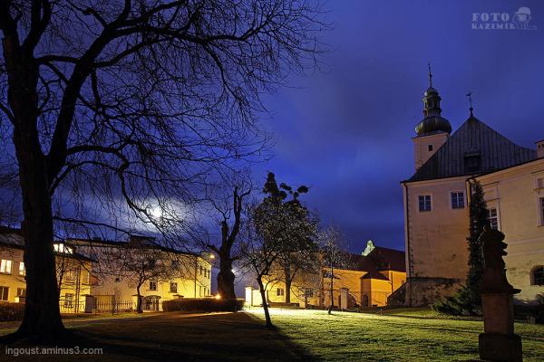 Frýdek-Místek in the night III.