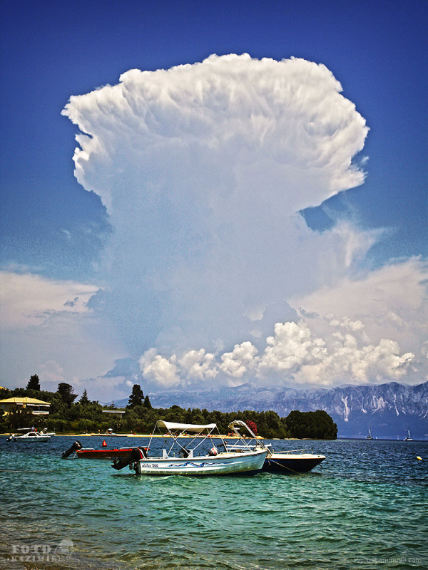 Clouds / Lefkada, Greece
