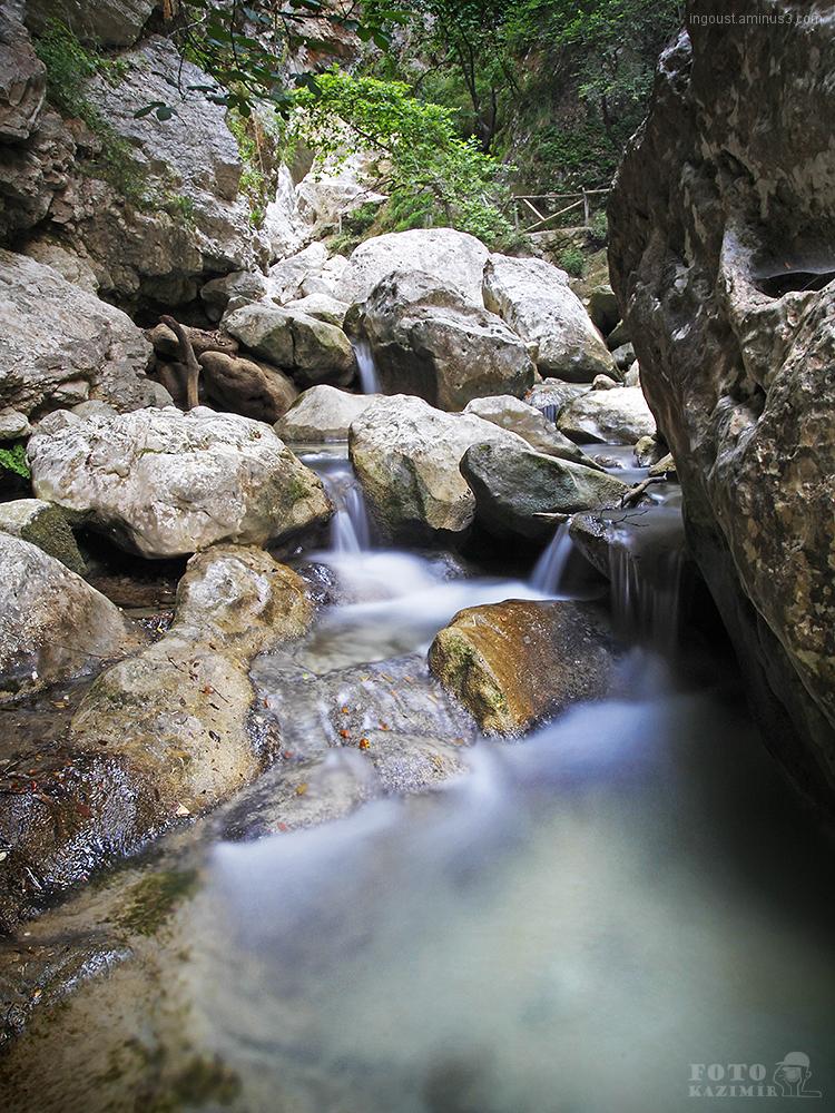 Waterfalls / Lefkada, Greece