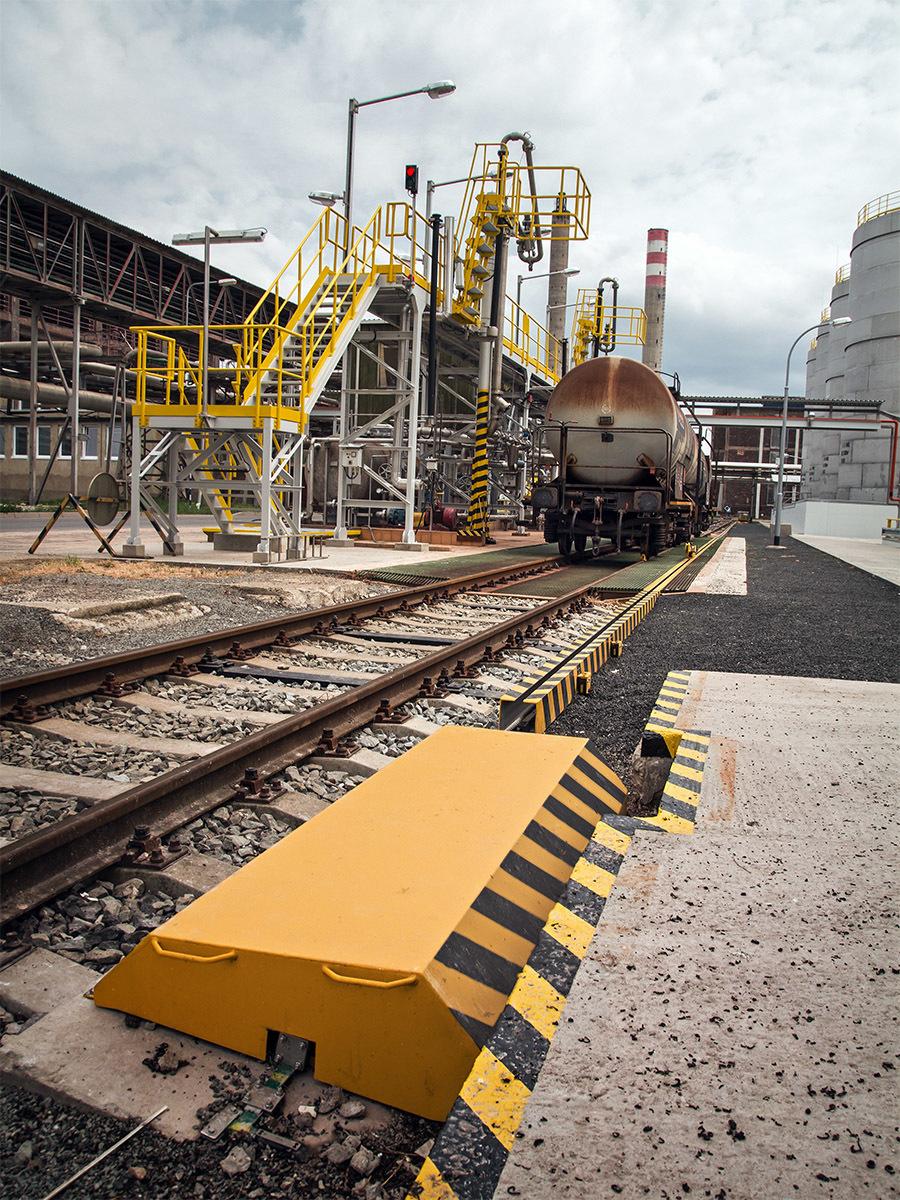 Railway siding