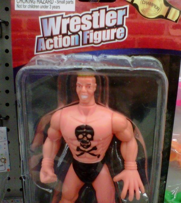 wrestler action figure