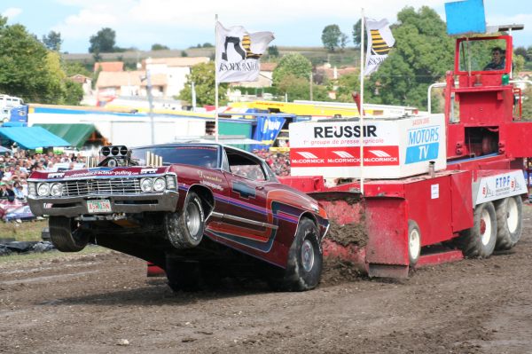 Tracteur pulling 2