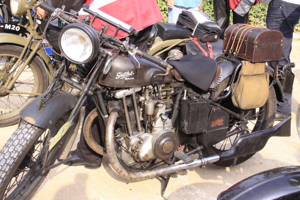 Moto Gillet 1935