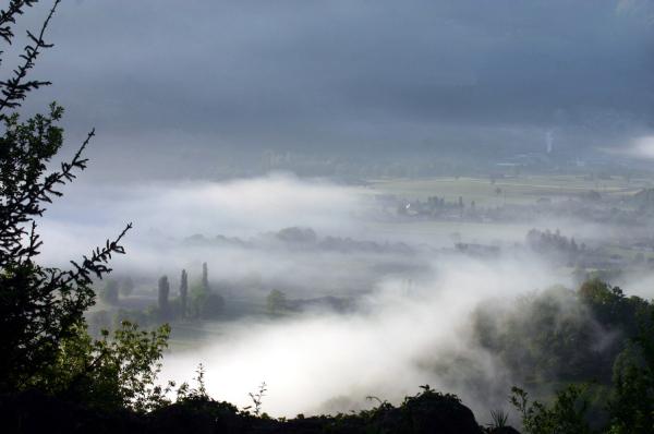Petit matin dans les Pyrénées