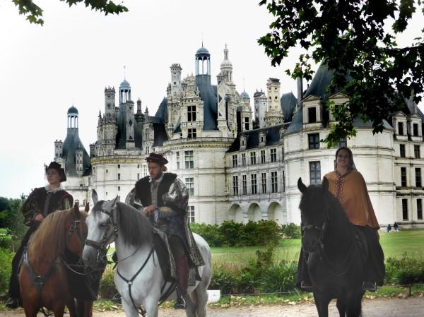Retour de chasse à Chambord