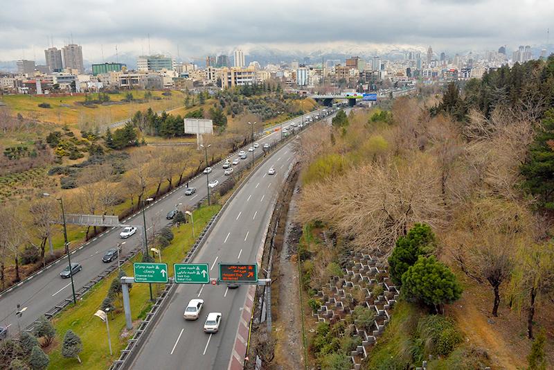 Tehran after the rain