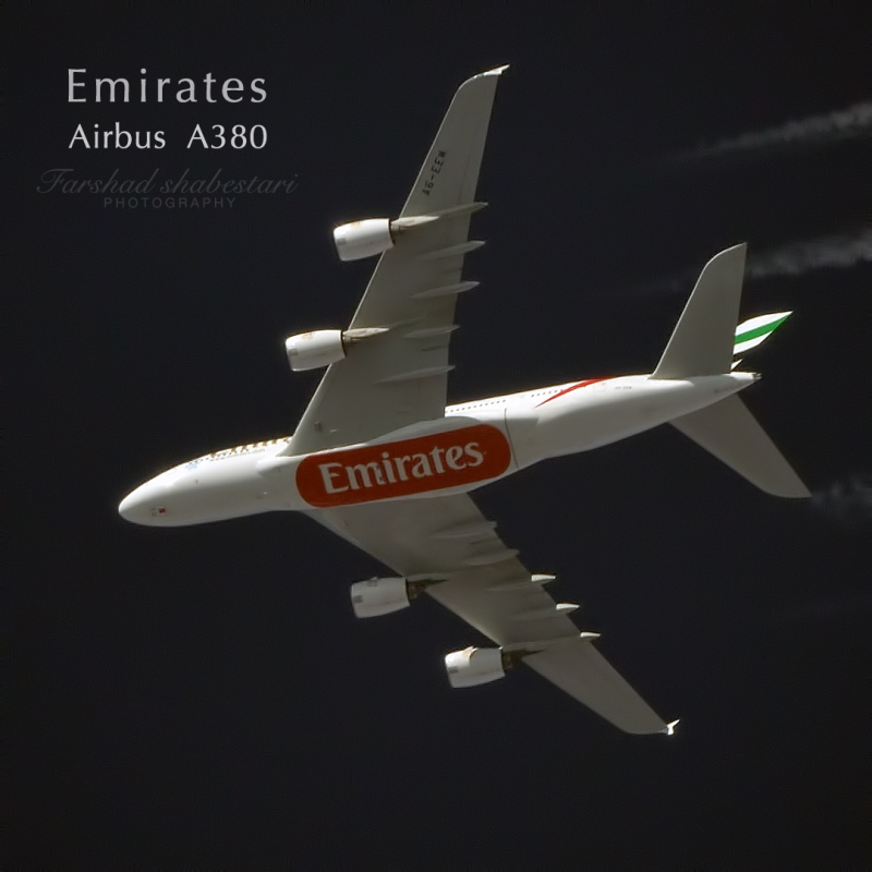 AirBus A380, 38.000 ft