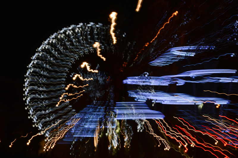 2014 - New Year's lights in Paris