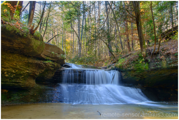 creation falls in red river gorge kentucky