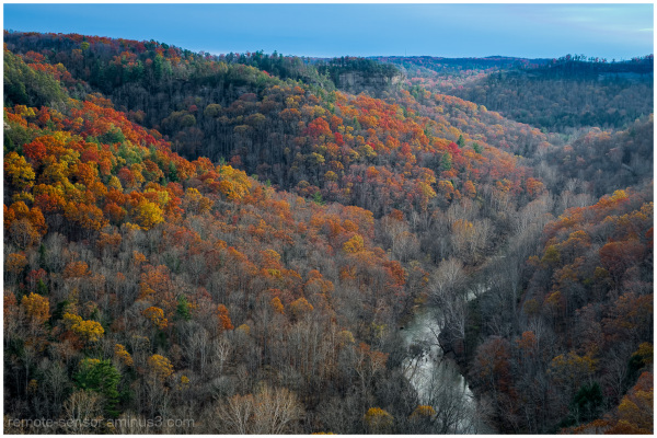 the red river gorge in eastern kentucky