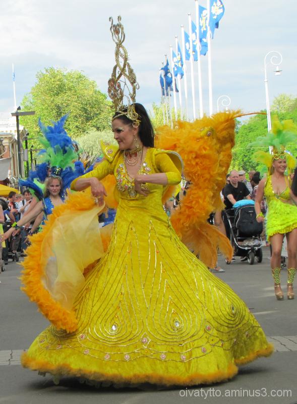 Samba carnival launched Summer 1