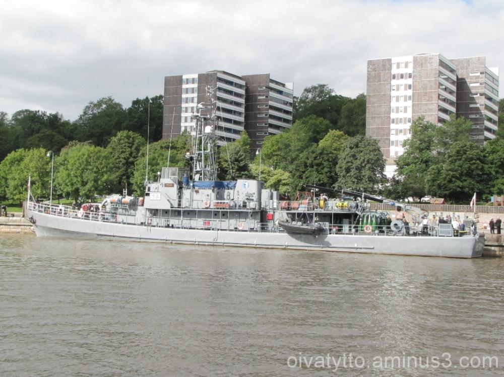 The Polish Military the ship MEWA!