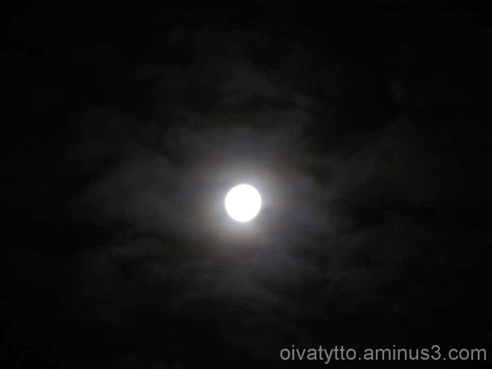 The October the full moon!