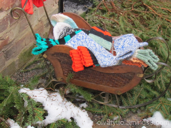 Sleigh full of socks!