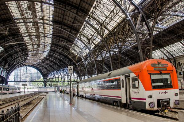 estación tren barcelona