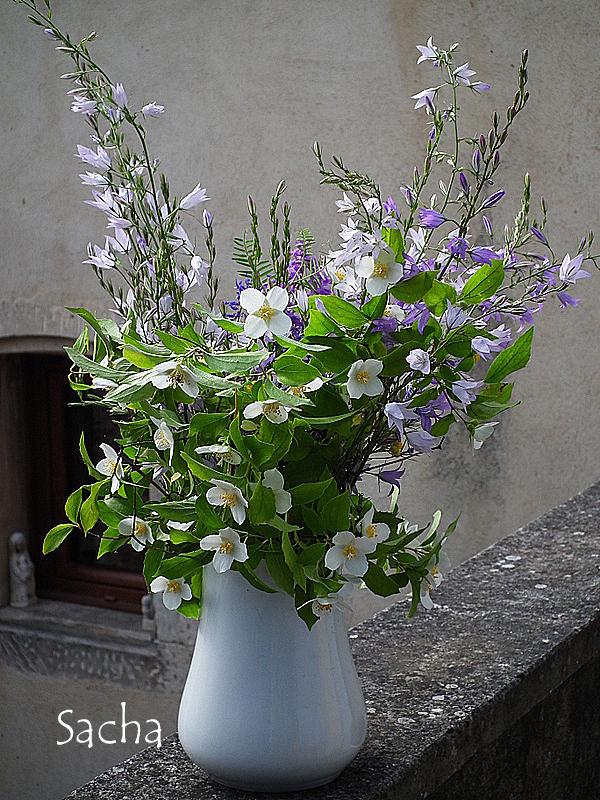 Bouquet de fleurs .......