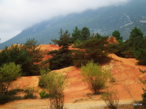 Les ocres du Colorado de RUSTREL