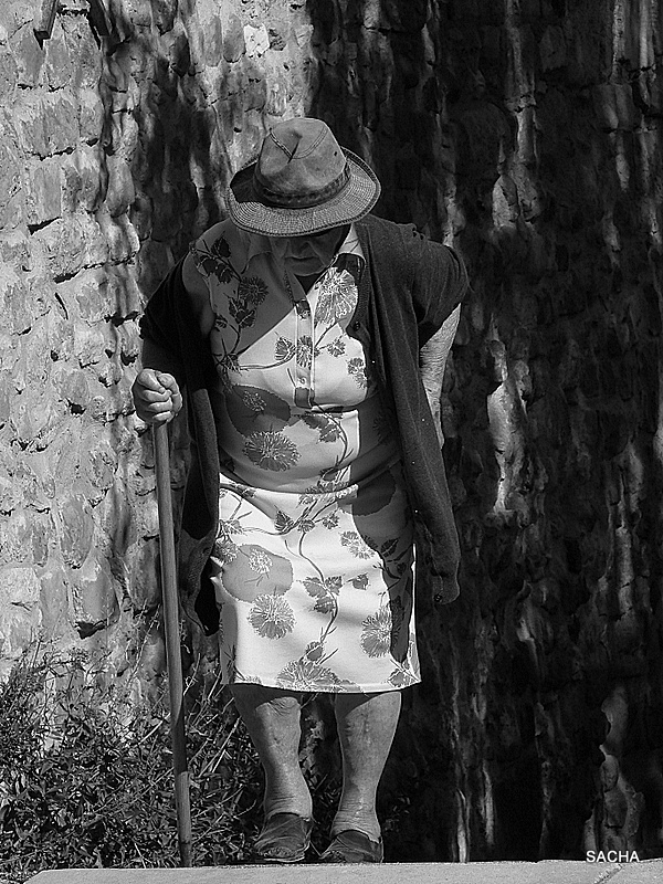 La vieille dame de Gignac