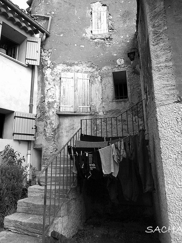 Ruelle de Ste Colombe Bédoin Ventoux