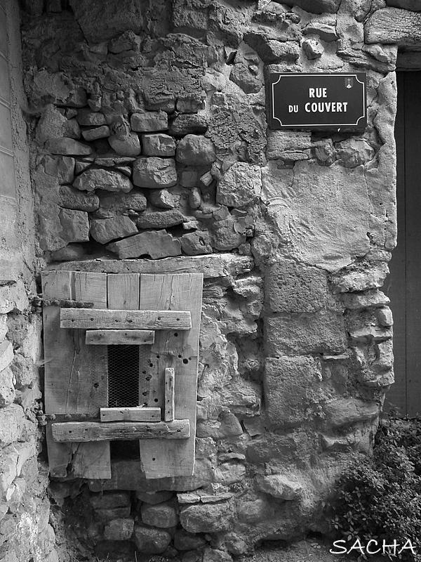 Rue du Couvert Ste Colombe Bédoin Ventoux
