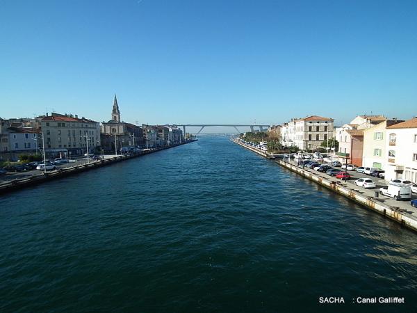 """Canal Galliffet """" Venise Provençale , Martigues """""""