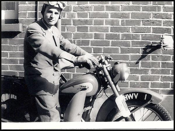 My first Motorbike