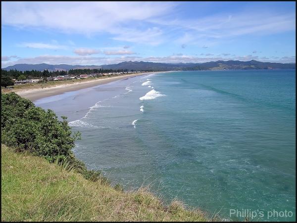 Matarangi Beach.