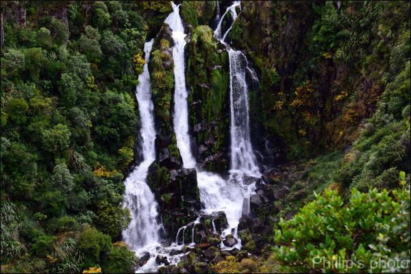 Close up Waterfall.