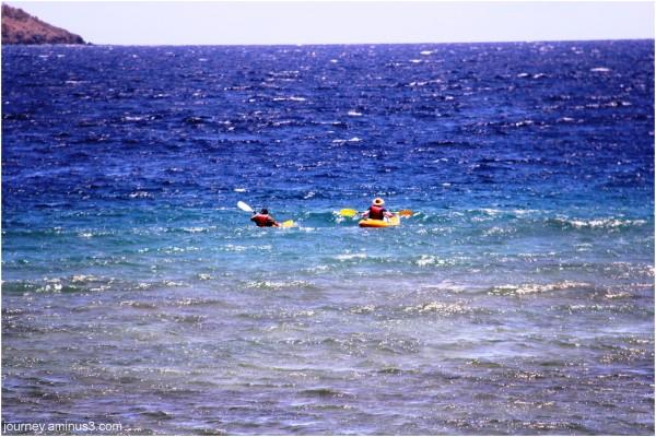 Fiji kayak