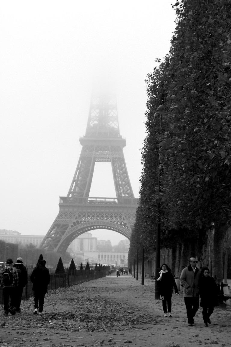 Tour-Eiffel Paris Noir-blanc