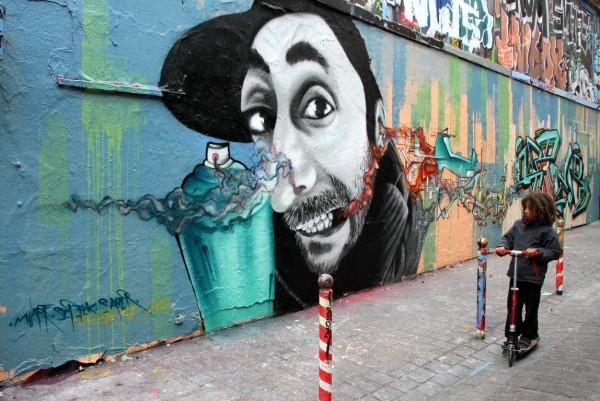 art-urbain enfance rue paris