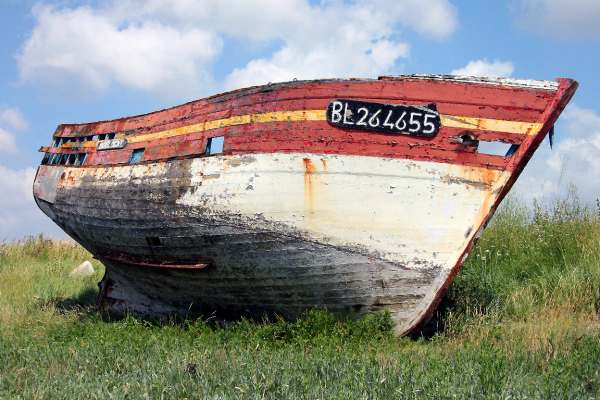 ailleurs mer plage bateau matière