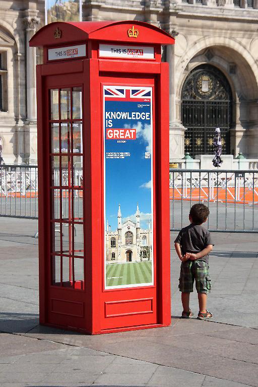 paris cabine-téléphonique London enfance