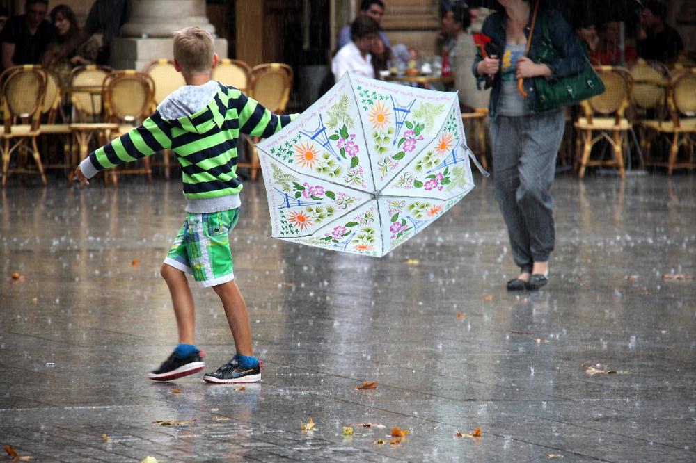 paris parapluie enfance