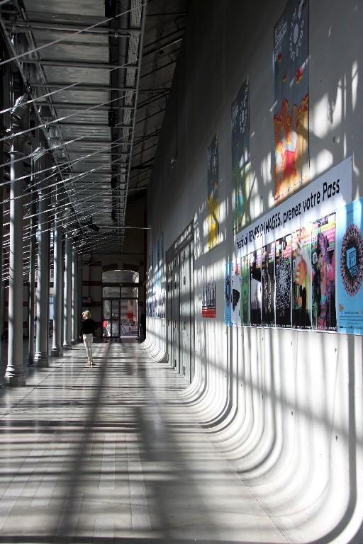 Paris graphisme ombre