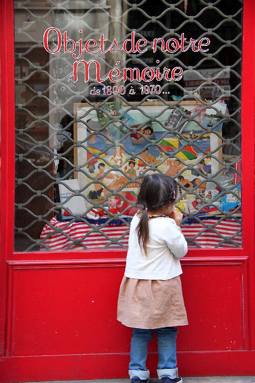 paris enfance devanture vitrine