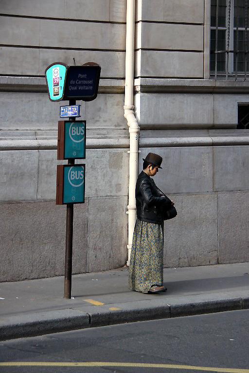 Paris arrêt-bus