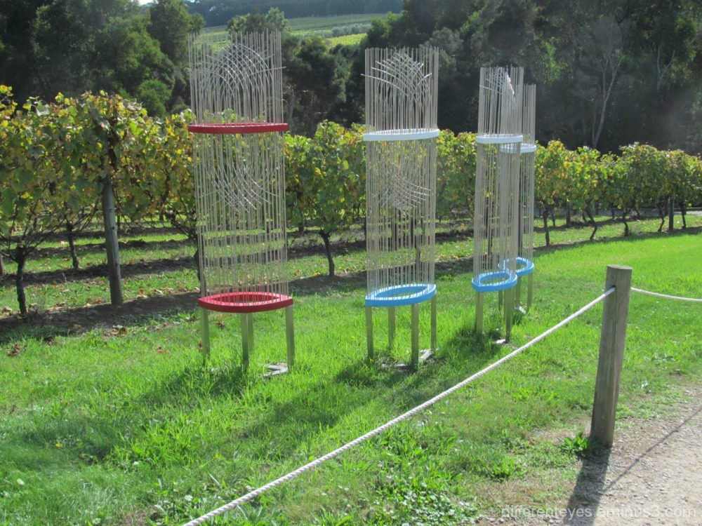 Montalto sculptures at Red Hill