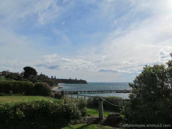 view of Port Phillip Bay from Portsea Hotel