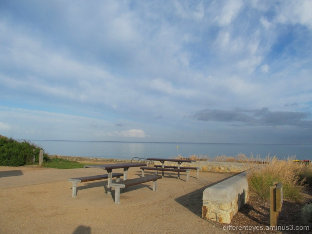 Dromana beach on Christmas morning 2014