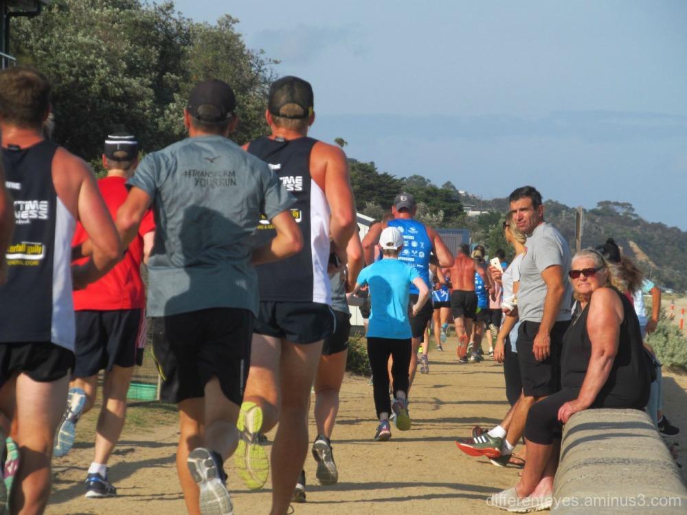 Australia Day 2016 Fun Run on Dromana foreshore
