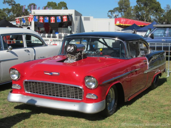 car at 2016 Westernport Festival, Hastings